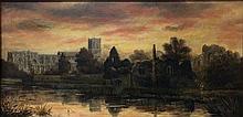 Edward Pritchett, (1808 - 1876) Oil on canvas,