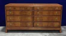 Beautiful vintage wood dresser, with excellent veneer