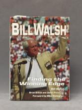 Autographed copy of Bill Walsh book