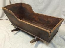 Sweet Antique rocking cradle