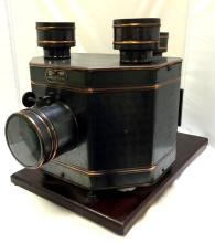 Antique Radioptican H. C. White co. Postcard projector