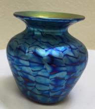 Lundberg Studios vase, Velvet? Mini Vase