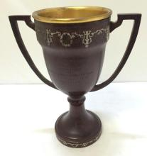 Art Deco AMS sterling on Bronze trophy, 1920