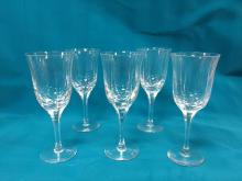5 Atlantis Crystal glasses