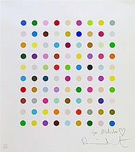 Damien Hirst (b.1965) - Signed limited edition print - Spots, No.106/500, signed and with dedication