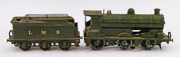 Model Railway - Unknown 0 Gauge -Electric 0- 6-0