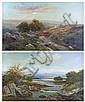 Banks, Thomas Joseph (1828-1896) - Pair of oils on, Thomas Joseph Banks, Click for value