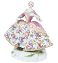 MEISSEN, FIGURA IN PORCELLANA