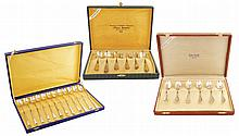 A set of Italian silver spoons (24)