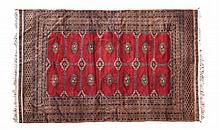 A Bukara rug