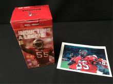 Derrick Brooks Bobble Head and Autograph