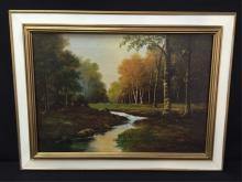 Framed Scenic Painting