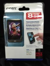 Coby 8 GB/Go MP823-8G Touchscreen