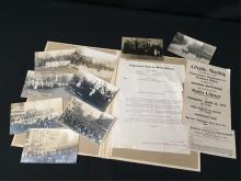 Ephemera Woman Suffrage Notices Photocards.