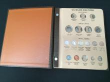 Type Set Coins in Album-see descrip