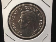 1939 Canadian Silver Dollar Nicer Coin