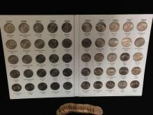 50 State Commemorative Quarters Collection and (20) Washington Gold Dollars-Nice Lot