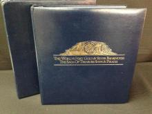 Set of 30 Gold & Silver $100 Banknotes from Antigua and Barbuda