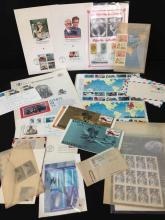 Aviation Stamp Collection - Over 30 Pieces