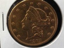 1873-S $20 Gold Coin Type II Fantastic!!!