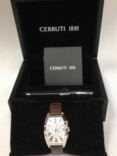 Cerruti 1881 Watch and Pen Gift Set in box
