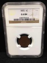1872 Indian Head Penny Better Date-NGC
