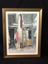 William Nelson, Second-Hand Store Lithograph