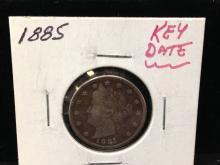 1885 Liberty Head Nickel Key Date Alert!!!!