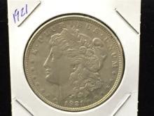 1921 Morgan Silver Dollar NICE COIN!!!