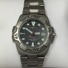 Vintage SEIKO Titanium Men's Watch 200M.