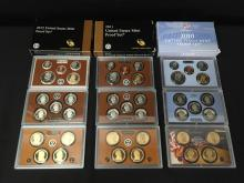 Lot of (3) United States Proof Sets