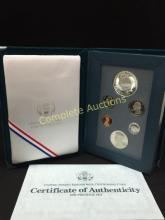 1990 Eisenhower Prestige Set w/COA & Box