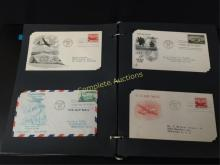 Stamps First Day Covers Full Binder