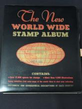 Stamps World Wide Stamp Album RARE Alert!