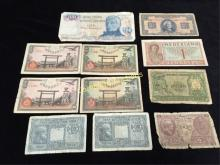 Lot of Vintage/Antique Foreign Currency