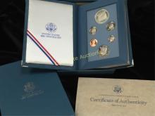 1987 Prestige Set w/Constitutional Silver $1