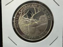 One Troy Ounce Silver Round