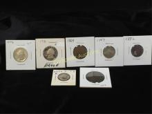 Odd Lot of Collectible Coins See Descrip
