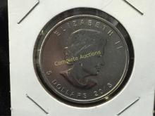 2013 Canada $5 Silver Bullion Coin 1 oz pur