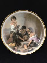 Vintage JKW (Kuba) Fine Porcelain Collectors Plate Western Germany.