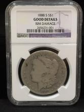 1888 S Morgan Silver Dollar RARE ALERT!!!