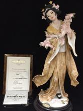 Florence Giuseppe Armani Figurine MADAMA BUTTERFLY in box.