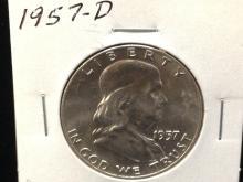 1957 D Franklin Half Dollar Grade it!