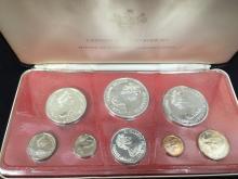 1972 Cayman Island Proof Set Silver in Case