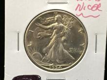 1934 S Walking Liberty Half Dollar Nicer