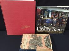 Lot of 3 Train Folklore & History Books