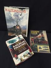 Lot of 3 Train Books