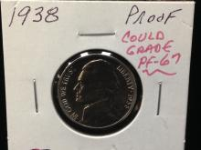 1938 Proof Jefferson Nickel SWEET!!!