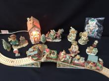 Lot of Cherished Teddies - Christmas Themed