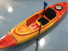 Kayak Perception 9.5 Swifty w/paddle - Local pickup only